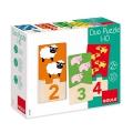 Puzle Duo 1-10. Aprende a contar del 1 al 10