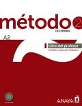 Metodo 2 de español. Libro del profesor A2