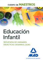 Educaci�n infantil. Secuencia de unidades did�cticas desarrolladas. Cuerpo de maestros.