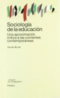 Sociolog�a de la educaci�n.