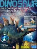Excavaci�n esqueleto de Stegosaurus (4M)