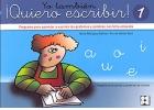Yo tambi�n �Quiero escribir! 1. Programa para aprender a escribir los grafemas y palabras con letra enlazada. Preescritura de grecas y grafemas de vocales.