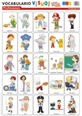 L�minas de vocabulario visual - Profesiones