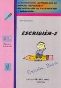 ESCRIBI�N-3. Mediterr�neo. Actividades de repaso, refuerzo y recuperaci�n de vocabulario y redacci�n.