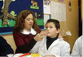 Primeras orientaciones para padres de niños sordos-ciegos.
