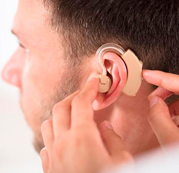 Deficiencia auditiva. Localización de la zona auditiva lesionada