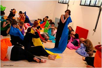 La creatividad como recurso de comunicación. Danzaterapia / Danza Creativa. Método fuxiano.