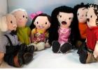 Familia de muñecos sexuados