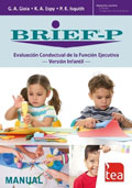 BRIEF-P, Avaluació Conductual de la Funció Executiva - Versió infantil (Joc complet)
