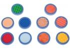 Discos sensoriales diferentes texturas