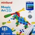 Mosaico tornillos 181 piezas (Mosaic Art 3D)