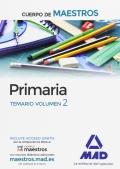Primaria. Temario volumen 2. Cuerpo de maestros.