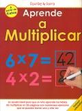 Aprende a multiplicar. Escribe y borra.