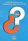 CPEAI. Cuestionario de procesos y estrategias de aprendizaje del ICCE