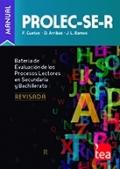 PROLEC-SE-R. Batería para la Evaluación de los Procesos Lectores en Secundaria y Bachillerato - Revisada. (Juego completo)