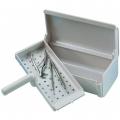 Cubeta para desinfección de instrumental. Capacidad 1.25L