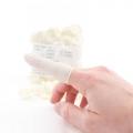 Dedales de látex sin polvo talla M (100 unidades)