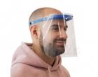 Pantalla facial con visor para adultos