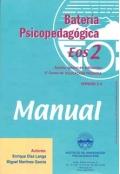 Batería psicopedagógica EOS-2. ( Manual + Cuadernillo ).