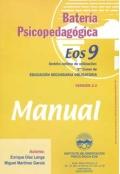 Batería psicopedagógica EOS-9. ( Manual + 10 Cuadernillos ).