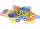 Elásticos ortodónticos coloridos 5/16 (100u.)