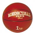 Balón medicinal 1 Kg rojo (con bote)
