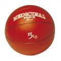Balón medicinal 5 Kg rojo (con bote)