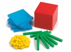 Bloques Base 10 en 4 colores