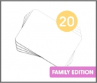 Set 20 Láminas en blanco Kamishibai A4