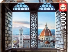 Puzle Vistas de Florencia 1000 piezas