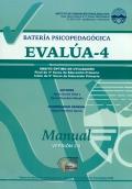 Manual de batería Psicopedagógica EVALÚA-4