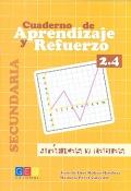 Cuaderno de aprendizaje y refuerzo 2.4. Gráficas y tablas. Secundaria.