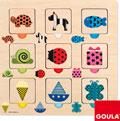 Puzzle texturas, colores y transparencias