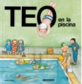 Teo en la piscina. Teo descubre el mundo.