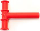 Mordedor oral Chewy Tube rojo (tubo medio)