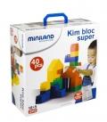 Juego de construcción jumbo (kim bloc super) 40 piezas
