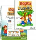 Rosita y Juanito. Libro de lectura y cuaderno de lectoescritura script y cursiva