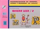 Quiero Leer - 2. Reconocimiento de sonidos, letras y palabras.(educación infantil)