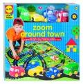 Zoom around town (Alfombra de juego y 4 coches)