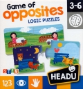 Game of opposites. Logic puzzles