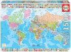 Educa Puzzle 1500 piezas. Mapamundi político