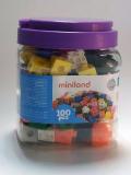 Cubos 2 CM. Bote (100 piezas)