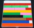 Mis regletas. Caja básica graduada (33 piezas)