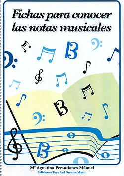 Fichas Para Conocer Las Notas Musicales María Agustina Perandones Má