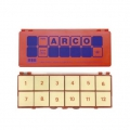 Estuche de control Mini Arco - Naranja (12 fichas)