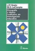 Etnografía y diseño cualitativo en investigación educativa.