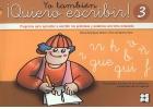 Yo también ¡Quiero escribir! 3. Programa para aprender a escribir los grafemas y palabras con letra enlazada. Grafemas: r - rr - h - b - v - ñ - ga, go, gu, gue, gui - n - f