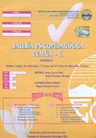 Cuadernillo y corrección de batería psicopedagógica EVALÚA-6