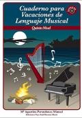 Cuaderno para vacaciones de lenguaje musical. Quinto nivel. Contiene CD.