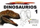 Dinosaurios 1 para colorear. Gigantes para colorear